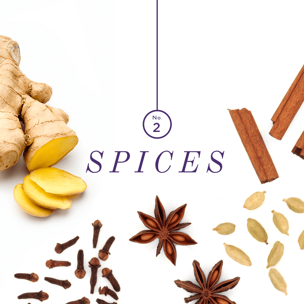 Ever wonder what ingredients make up the delicious chai you love sipping on? We're breaking down the anatomy of chai and the benefits of each.