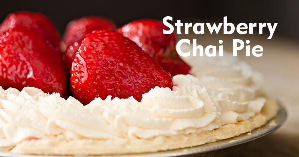 Strawberry Chai Pie