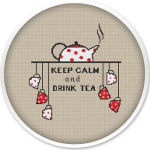 Keep Calm Cross Stitch