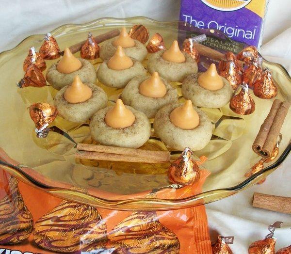 Chai Pumpkin Kiss Cookies